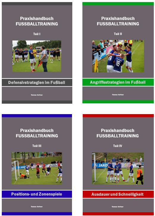 Alle 4 Praxishandbücher <br> mit über 1.900 Trainingsformen <br> Preis: 68,- €, zzgl. Versand <br>
